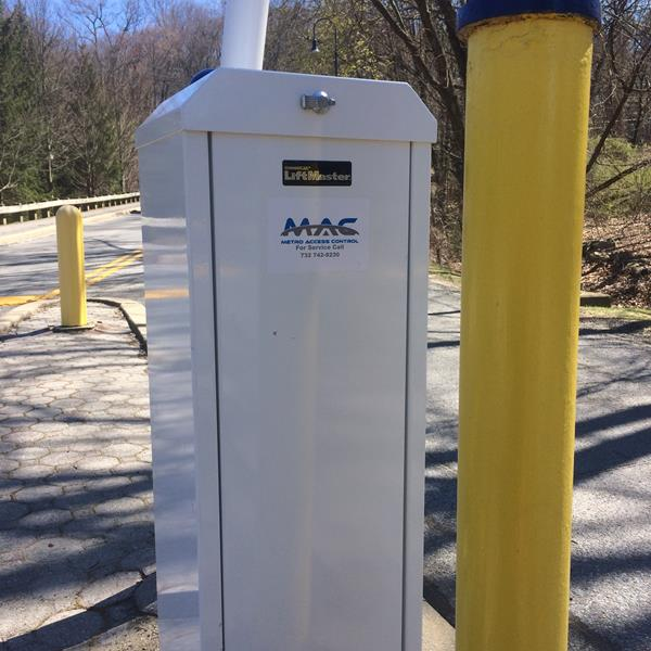 Parking gate installed at Pace University in Pleasantville New York