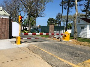 Sea Girt Crash Rated Barrier Install